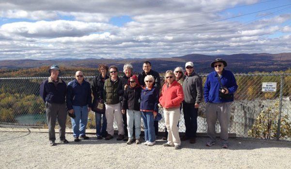 Class at Granite Quary